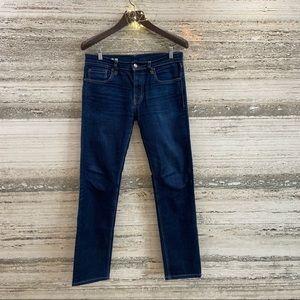MUJI Men's denim jeans Slim Straight size UK 30